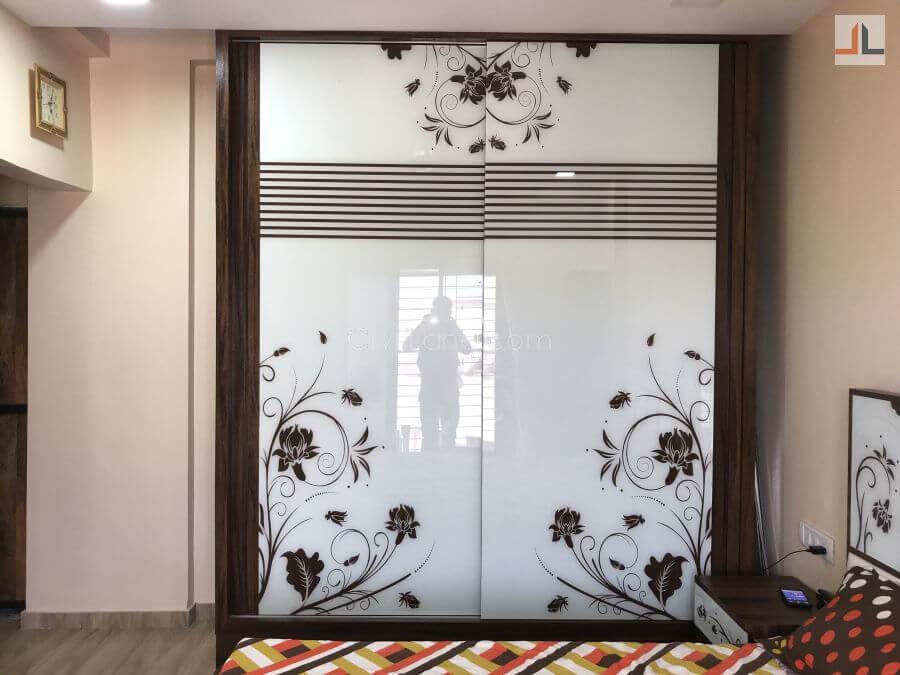 TV Unit Furniture Design For Living room Grey Color Mumbai