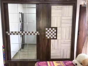 1BHK Converted Into 2BHK Mumbai Small Wardrobe Design