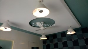 Office Cabin False Ceiling Design