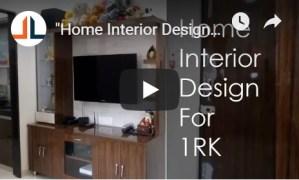 Home Interior Design For 1RK CivilLane