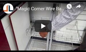 Magic Corner Wire Basket CivilLane