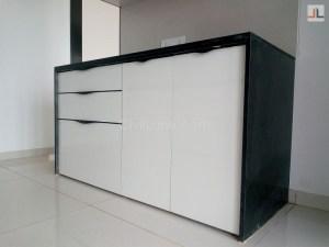 Modular Kitchen Black Matt Profile Handle