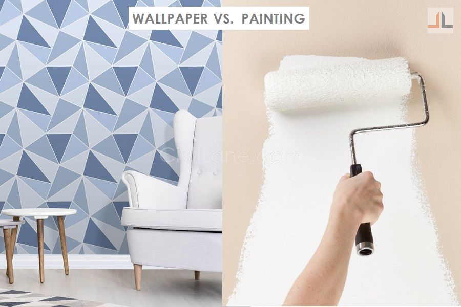 Wallpaper vs painting what to choose for Indian homes