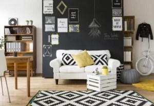 Chalkboard wipeable paint