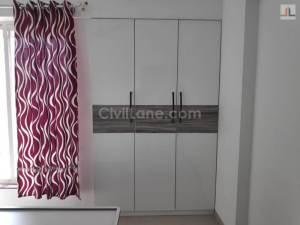 Three Doors Openable Wardrobe Laminate Finish Furniture Handewadi Pune