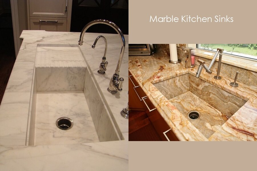 Granite Marble Made Kitchen Platform Sink