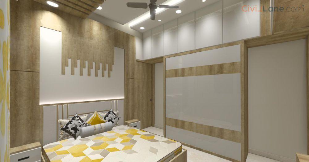 3D Bedoom Interior Design Pune