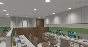 3D Corporate Office Interior Design Mumbai (2)