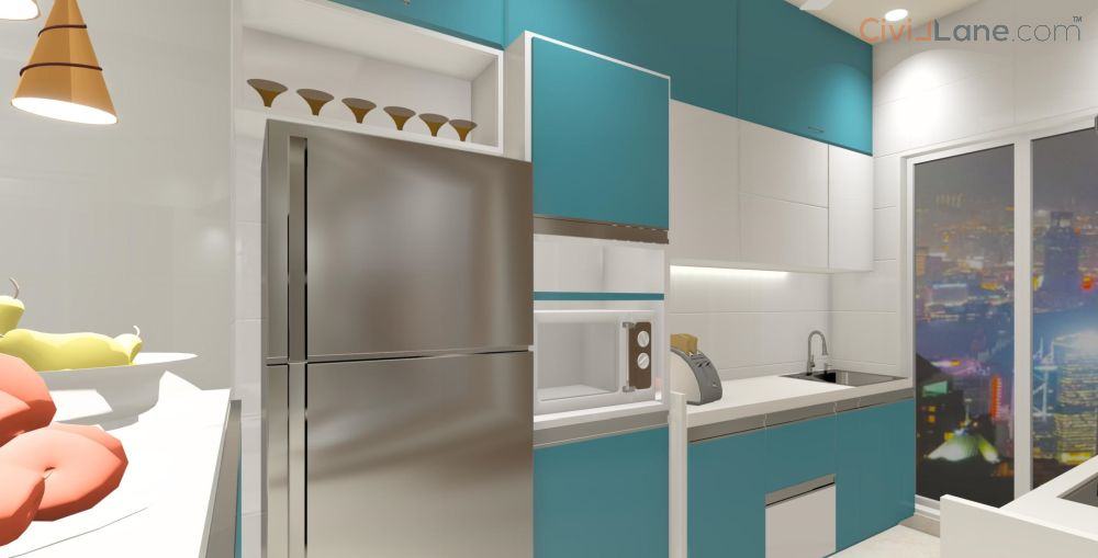 Kitchen Design With Tall Unit