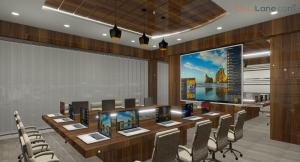 Conference Meeting Room Design With Projector (2)