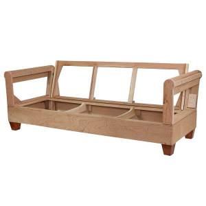 Examine the sofa frame