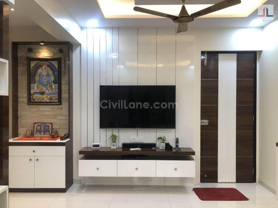 TV Unit Design Living Room Mumbai 2020