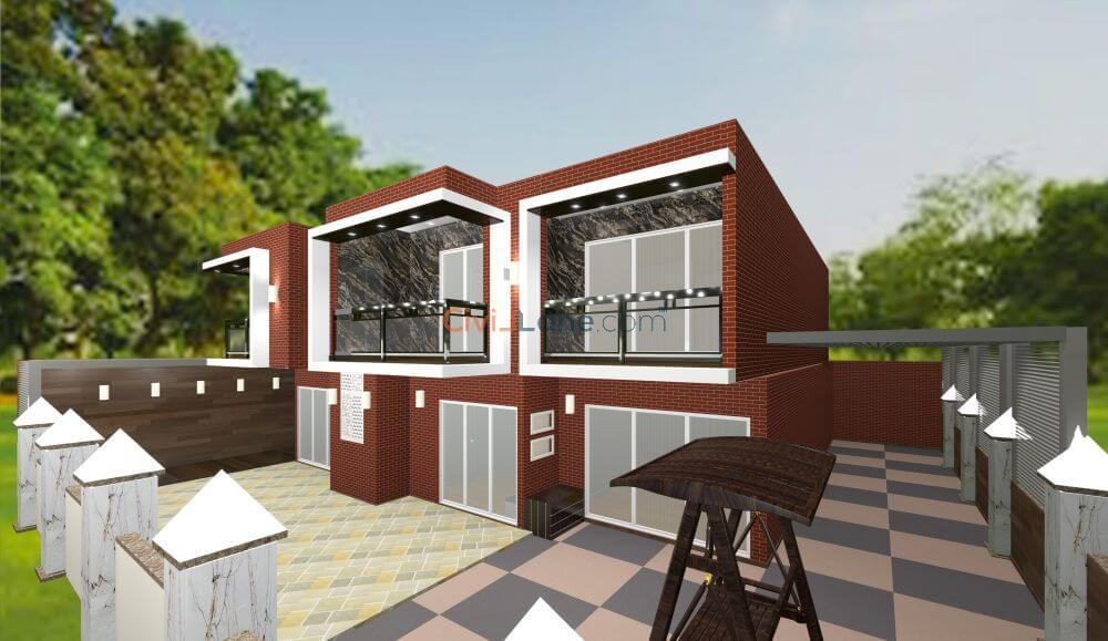 Exterior Elevation Design CivilLane