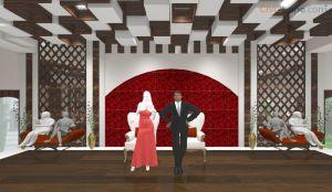 Banquet Hall 3D Interior Design (1)