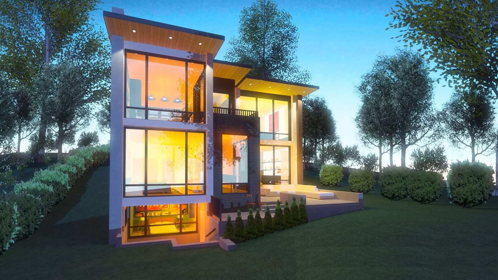 3D Exterior Elevation Design Services