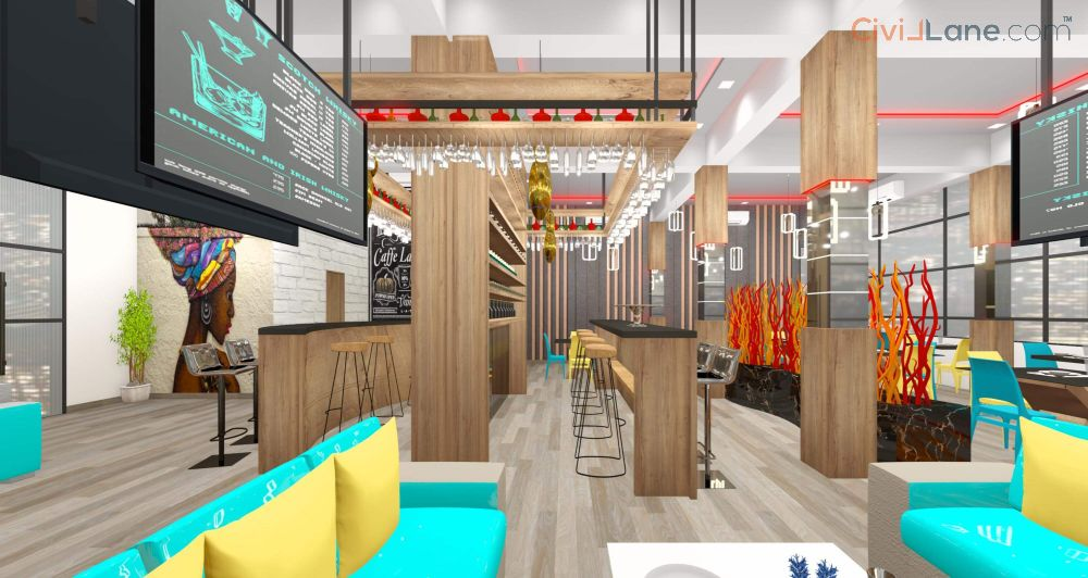 Restaurant Bar Interior Design Images