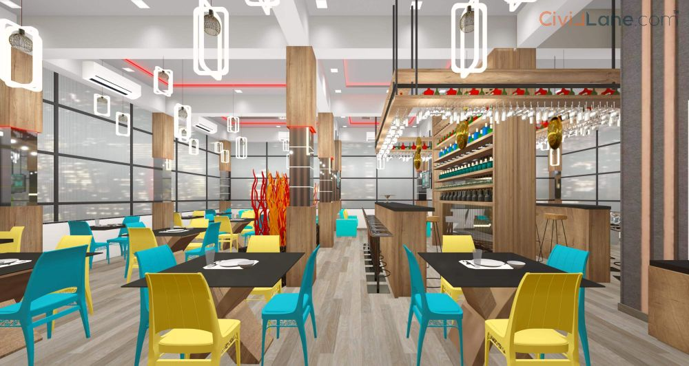 Restaurant Bar Interior Design Mumbai