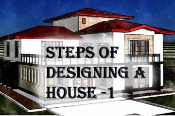 House designing steps