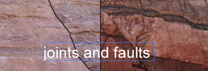 Joints And Faults in Rock-  Structural Features of Rock