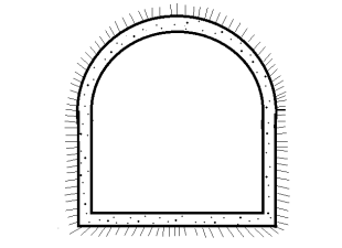 Segmental tunnel shape