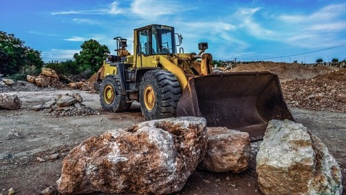 Different Types of Heavy Equipment Used in Construction Work - Bulldozer