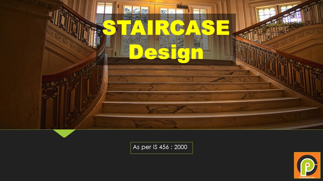 Design of Staircase according to IS 456:2000