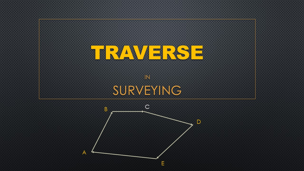 Traverse in Surveying | Civil Survey Engineering