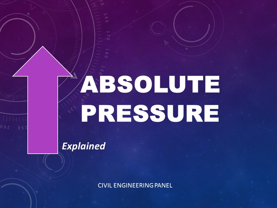 Absolute Pressure: Definition and Formula Explained