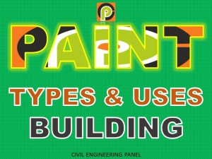 TYPES OF PAINT | Wall & House Painting Ingredients