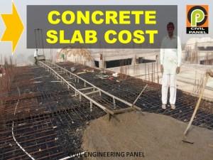 Cost per sq ft Concrete Slab in India – Estimation Exclusive