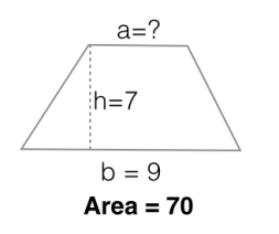 area of a trapezoid2