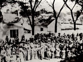 Slaves on a South Carolina plantation