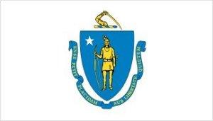 Massachusetts state flag | Image Credit: all-flagsworld.com