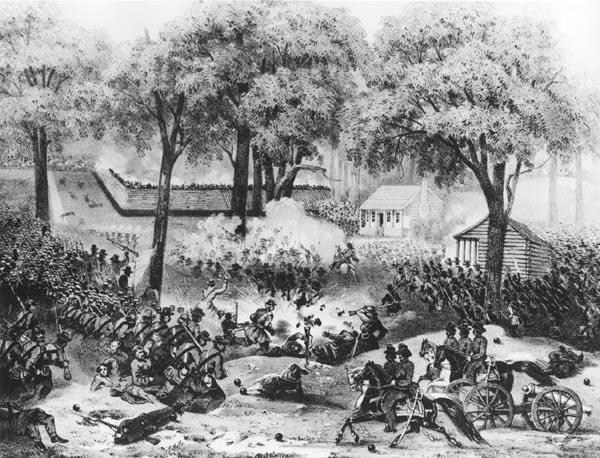 The Battle of Carnifex Ferry | Image Credit: CivilWarDailyGazette.com