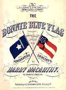 """Bonnie Blue Flag"" sheet music | Image Credit: Wikipedia.org"