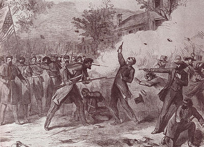 The St. Louis Riot | Image Credit: Wikimedia.org