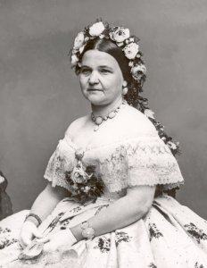 First Lady Mary Lincoln | Image Credit: Wikipedia.org