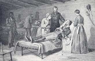 Their Kind Nature - women nurses during the civil war
