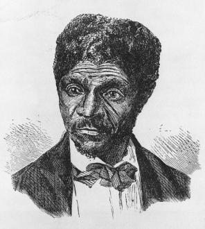 Buchanan  James   Civil War on the Western Border  The Missouri     Wood engraving of Dred Scott  Courtesy of the Library of Congress