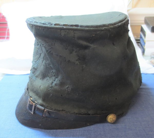 Civil war soldiers cap