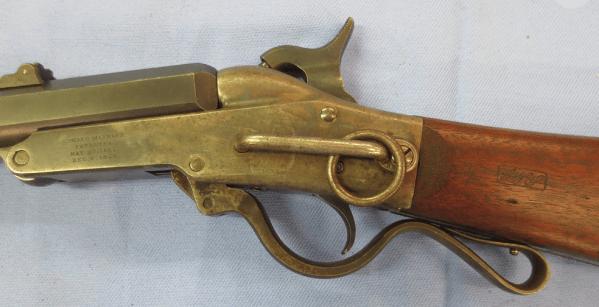 Center part of the golden shotgun