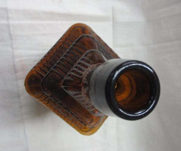 top view of a bottle