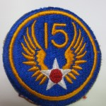 blue patch with 15 and a star