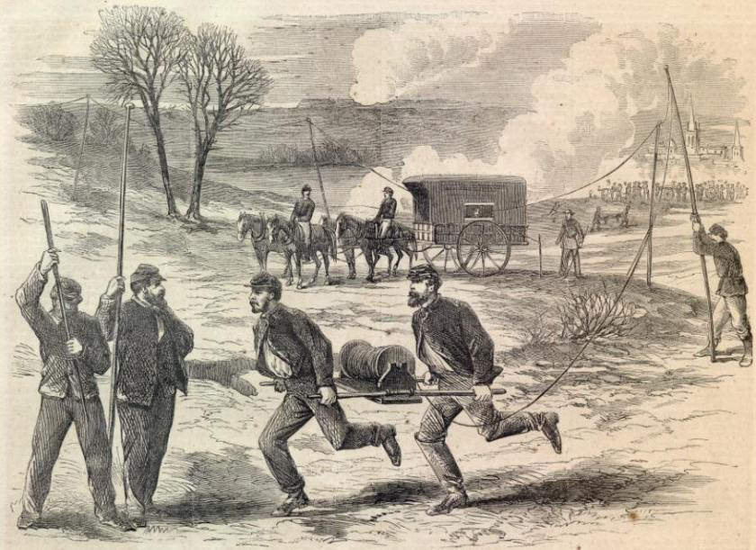 Image result for civil war telegraph