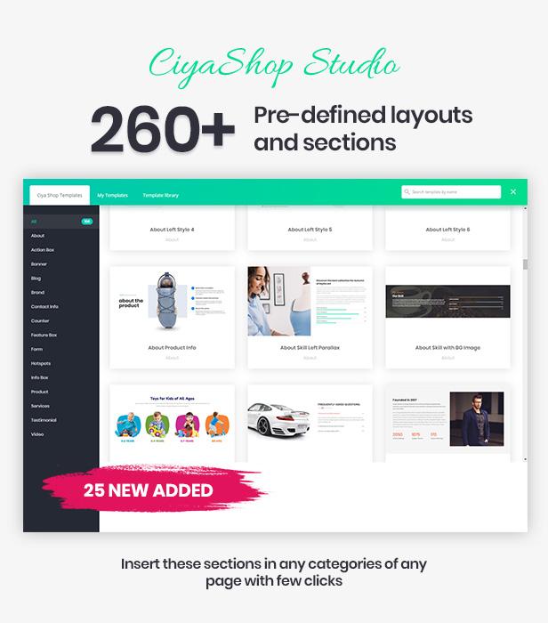 CiyaShop - Responsive Multi-Purpose WooCommerce WordPress Theme - 5