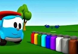Leo Junior – Leo Junior bize renkleri öğretiyor