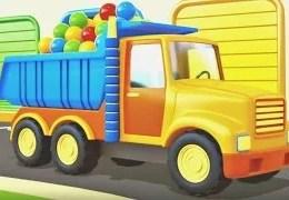 Eğitici çizgi film – Acil durum Araçları – Kamyon, Beton Mikser, İtfaiye ve Taşıyıcı