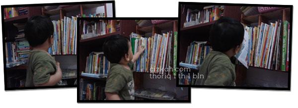 bayi membaca