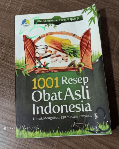 buku shinse abu muhammmad 1001 resep obat asli indonesia
