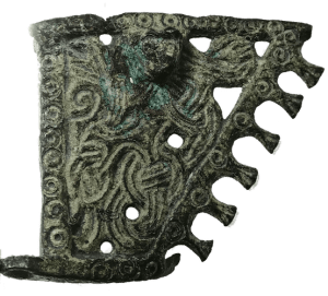 viking bronze weathervane